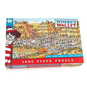 ウォーリーはどこですか-アステカのジグソー パズルの最後の日パズル (1000年ピース)