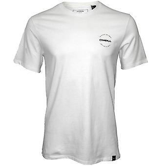O'Neill kautta linssi Crew Neck t-paita, jauhe valkoinen