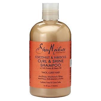 Shea Feuchtigkeit Kokosnuss & Hibiscuss Curl Shine Shampoo 384ml