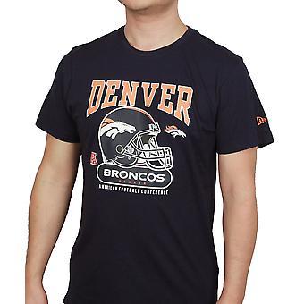 Uuden aikakauden ja NFL kypärä paita ~ Denver Broncos