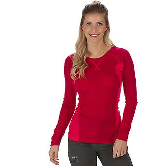 Regatta Damen/Damen Beru Merino Wolle Long Sleeve Baselayer-T-shirt