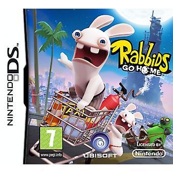 Rabbids Go Home (Nintendo DS)-fabriks forseglet