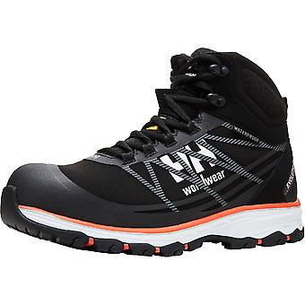 Helly Hansen Mens Chelsea Evolution Mid Workwear Fabric Safety Boots