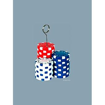 Balloon Weight/Photo Holder Poker Chips