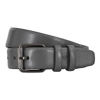 JOOP! Cintos masculinos-cintos de couro cinzento cinto 4711