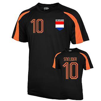 هولندا الرياضة التدريب جيرسي (شنايدر 10)