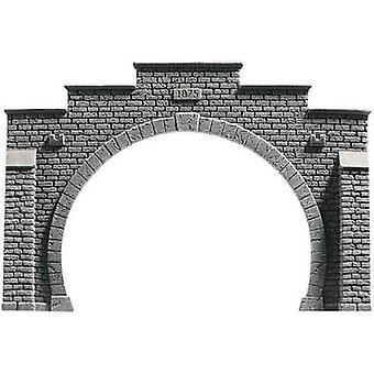 NOCH 48052 PROFI plus TT tunnel portaal 2-track HR Foam prefab, gelakt