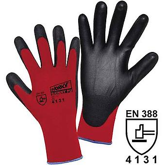 L+D worky SKINNY PU 1177 Nylon Protective glove Size (gloves): 10, XL EN 388 CAT II 1 pair