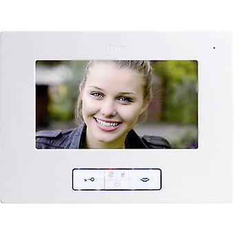 m-e modern-electronics Vistus VD 607 Video door intercom Corded Indoor panel White