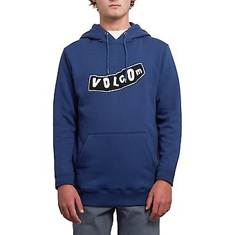 Volcom Supply Stone Pullover Hoody in blu maturo