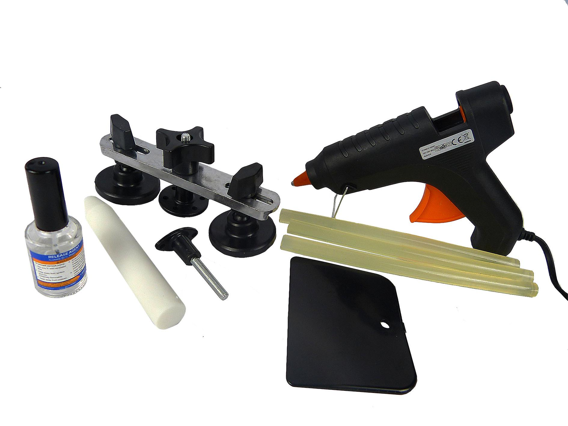 Hyfive Paintless Dent Repair Puller Kits PDR Kits Body Dent Removal Tools Dent Puller Kit Repair you vehicle at home