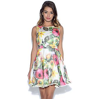 AX Paris Floral Midi Skater Dress
