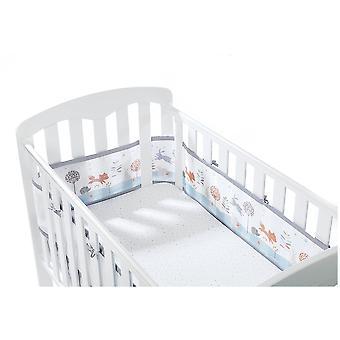 Hengittävä vauvan pinnasänky/Cotbed verkkovuori 4 sivuinen