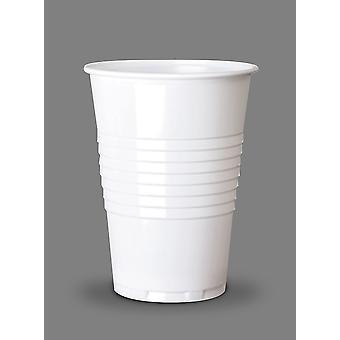 Bianco monouso distributore automatico Tall Cup freddo 7oz