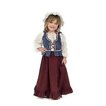Kleine Gastwirtin Kinderkostüm Bäuerin Magd Mädchen Kostüm