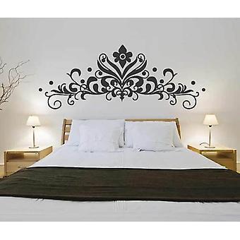 Barokk Headboard V2 Wall klistremerke