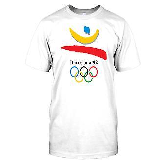Barcelona 92 - Jogos Olímpicos de verão Mens camiseta