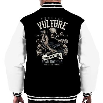 Funeral Vulture Fear Nothing Men's Varsity Jacket