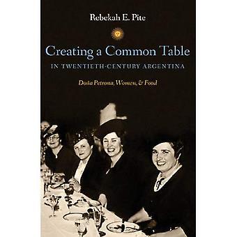 Opprette en vanlig tabell i tyvende århundres Argentina: Dona Petrona, kvinner og mat