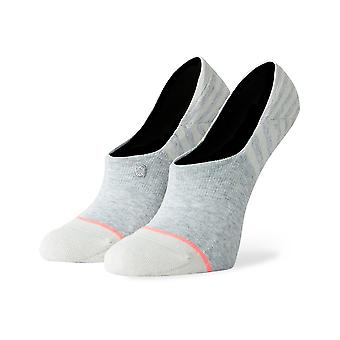 Stance Sensible 3 Pack No Show Socks in Heather Grey
