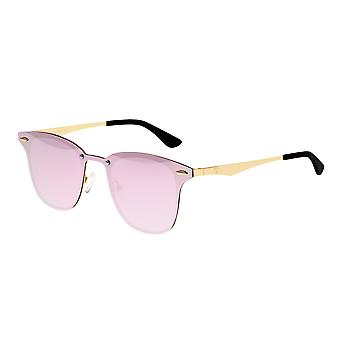 Sixty One Infinity Polarized Sunglasses - Gold/Pink-Celeste