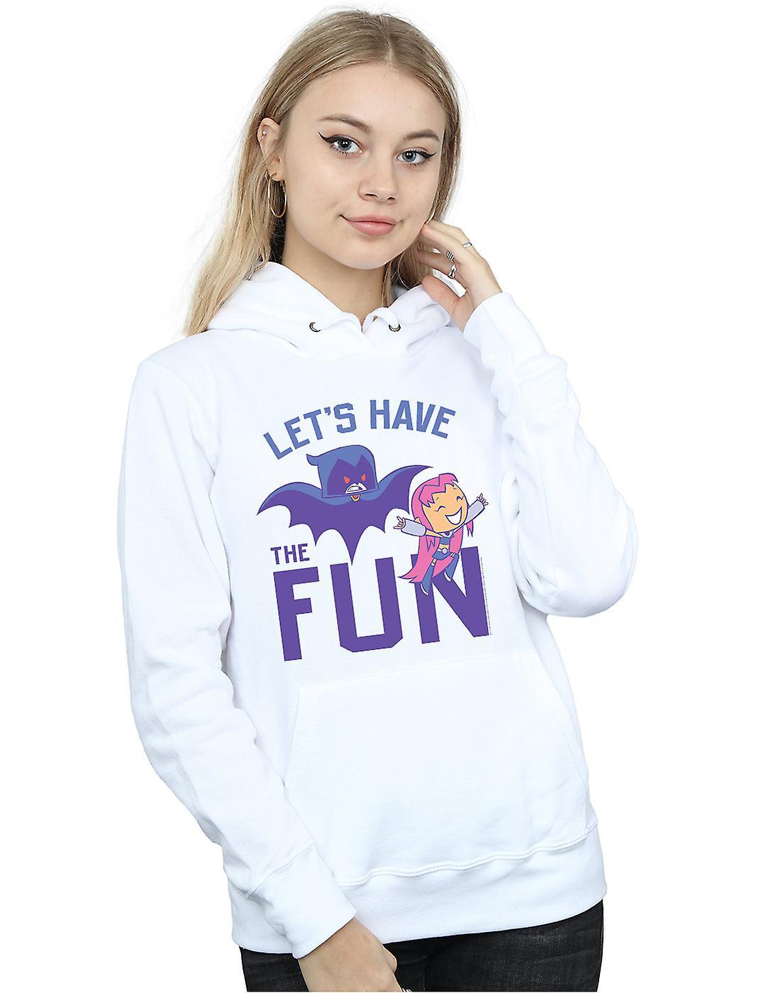 DC Comics Girls Teen Titans Go Lets Have The Fun Sweatshirt