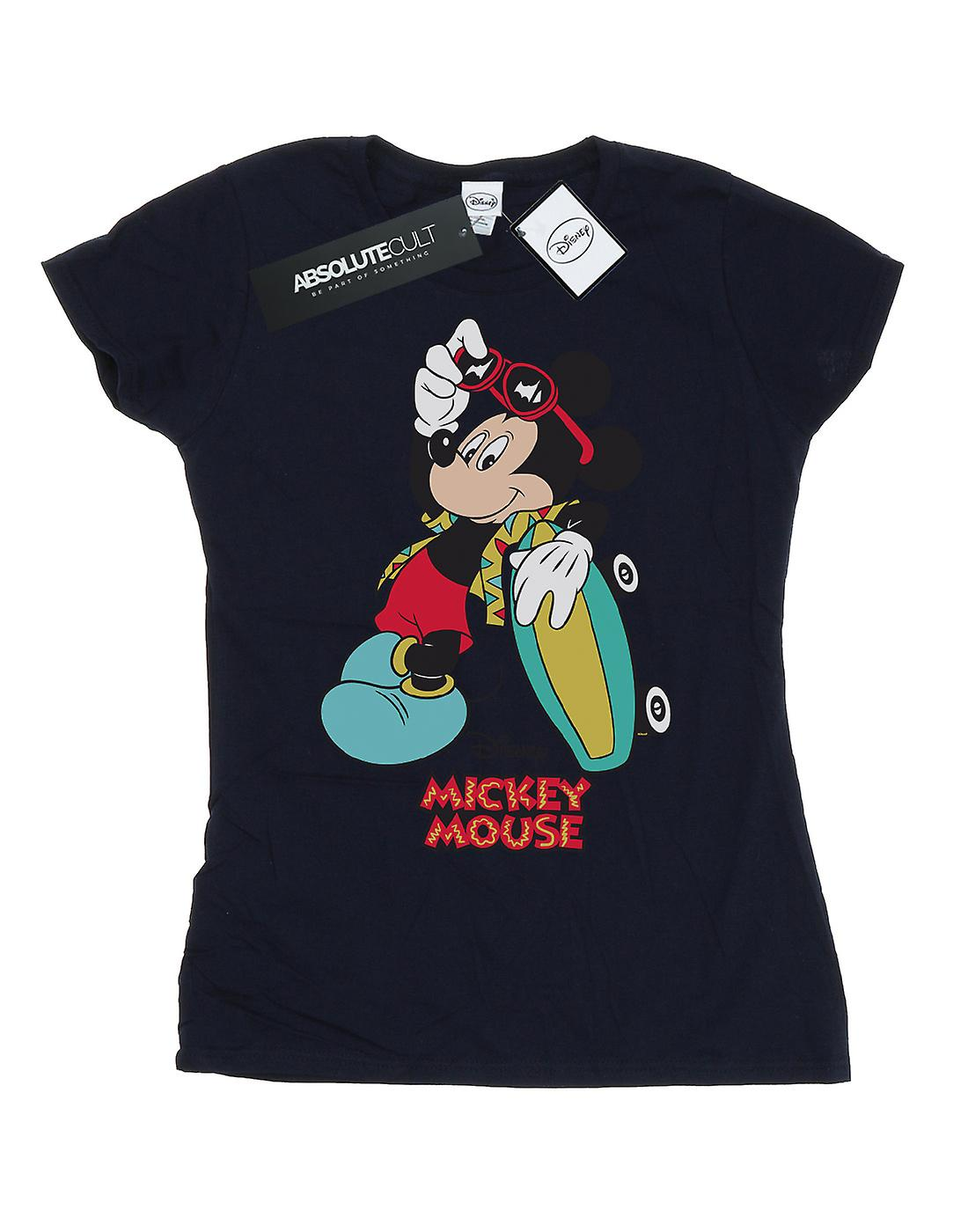 Disney Women's Mickey Mouse Skate Dude T-Shirt