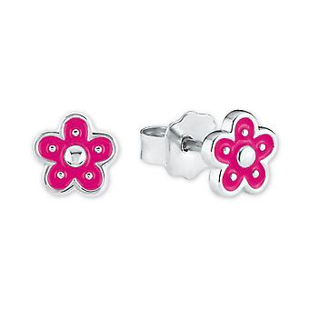 Principessa Lillifee bambini Orecchini argento fiori rosa 2021004