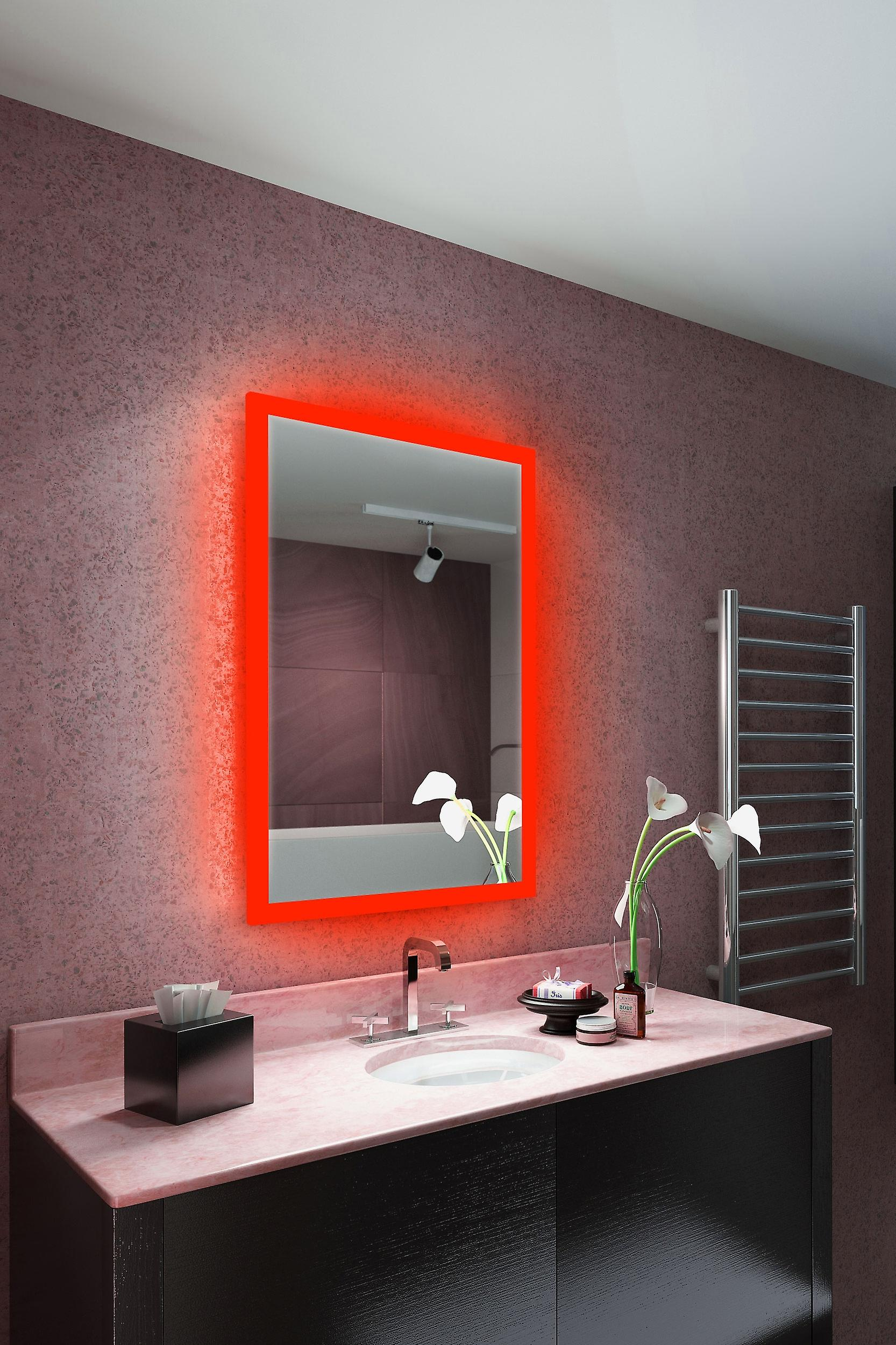 RGB Audio Shaver Mirror with Bluetooth Demist Sensor K8401vrgbaud