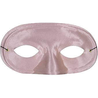 Half Domino Mask Pink For Adults