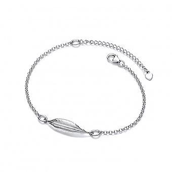 Cavendish französische Silber einzelne Feder Geist Armband