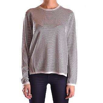 Prada Ezbc021023 Women's Grey Wool Sweater