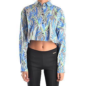 Kenzo Ezbc013002 Women's Multicolor Cotton Shirt