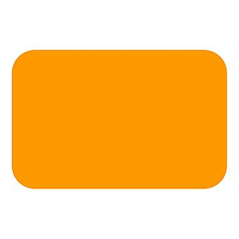 Tuftop Medium texturiert Arbeitsplatte Saver, Orange 40 x 30cm