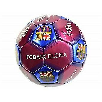 FC Barcelona Signature Mini Leather Football