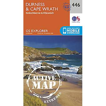 Durness and Cape Wrath (September 2015 ed) by Ordnance Survey - 97803