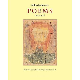 Poems (1924-1971) by Miltos Sachtouris - 9780976395065 Book