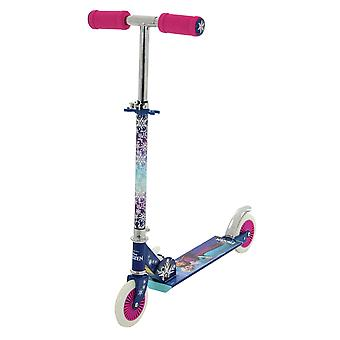 Disney Frozen Folding In Line Scooter Mini Scooter MV Sports Ages 5 Years+
