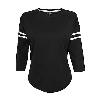 Urban Classics Damen Langarmshirt Sleeve Striped