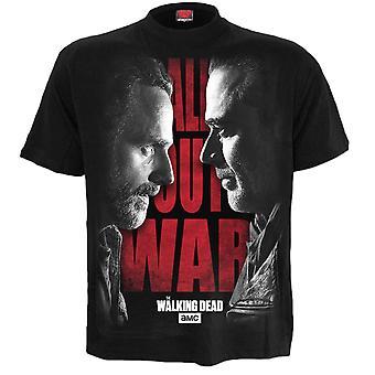Spiral Walking Dead All Out War T-Shirt S