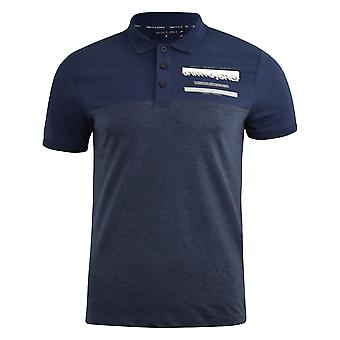 Mens polo shirt smith and jones collared tee top askew