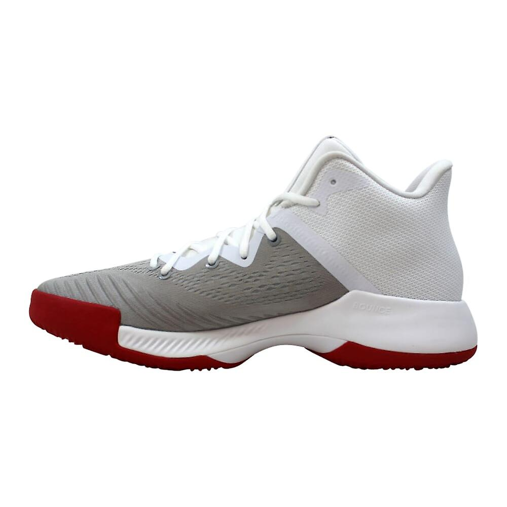 Adidas SM Mad Bounce NBA/NCAA WH fottøy hvit/Scarlet-Grey to AC7238 menns