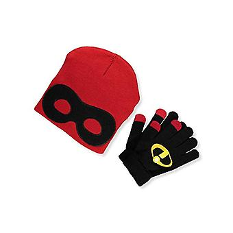 Beanie cap-Disney-Incredibles 2-masca & Mittens set 358485