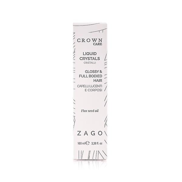 Liquid Crystals for Glossy and Full Bodied Hair Cown Care
