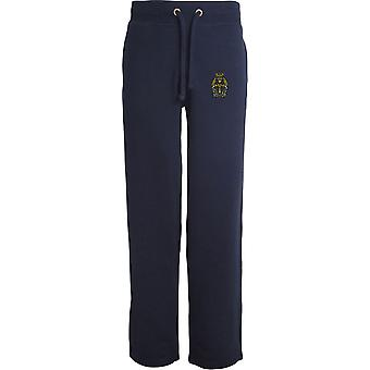 Queens Alexandra Royal Army Nursing Corps - Licensed British Army Embroidered Open Hem Sweatpants / Jogging Bottoms