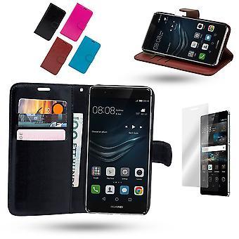 Huawei P9 Lite-lederen draagtas/hoes