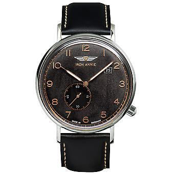 Iron AnnieAmazons Impression Swiss Quartz Analog Man Watch with Cowskin Bracelet 5934-2