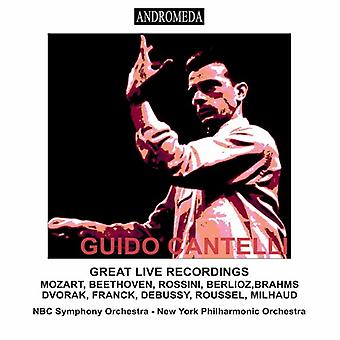 Guido Cantelli - Great Live Recordings 1950-56 [CD] USA import