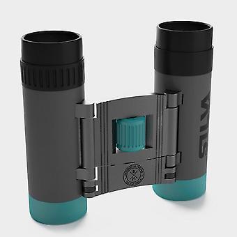 Nou Silva buzunar 8x binocular gri