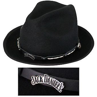 Jack Daniels sombrero lana repelente al agua de 2 pulgadas